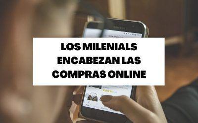 Las compras online aumentan un 15% encabezadas por los millennials