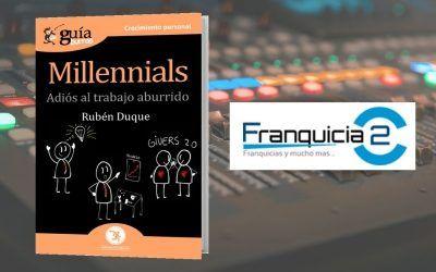 Rubén Duque habla sobre millennials en Franquicia2