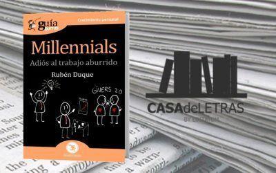 El 'GuíaBurros: Millennials' en Casa de Letras