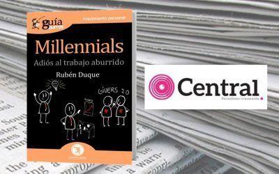 Periódico Central ha reseñado el 'GuíaBurros: Millennials'