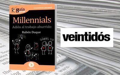 El libro de Rubén Duque en la Revista Veintidós